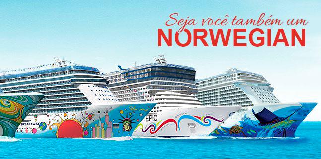 Norwegian Cruise Line – o cruzeiro da sua vida!