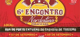 6º Encontro Nordestino acontece nos dias 7, 9, 10 e 11 de setembro na Rua do Porto