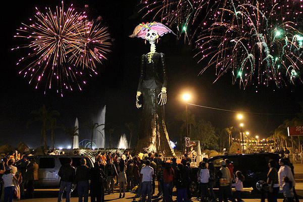 Em Aguascalientes, uma grande festa celebra os mortos / Foto: Divulgação VisitMexico.com