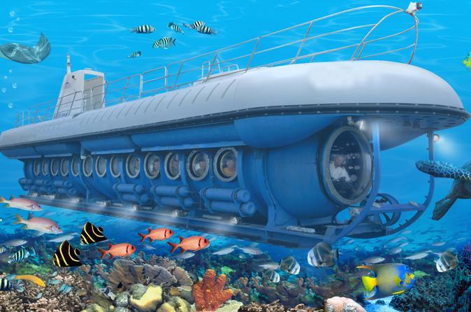 Créditos: Divulgação/Atlantis Submarines Passeio de 'submarino' é uma das atrações imperdíveis em Cozumel