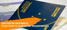 Perdi meu passaporte na viagem. E agora?