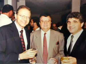 Prefeito Mendes Thame, Nelson Carrano Torres e o Secretário de Turismo Luiz Roberto Pianelli