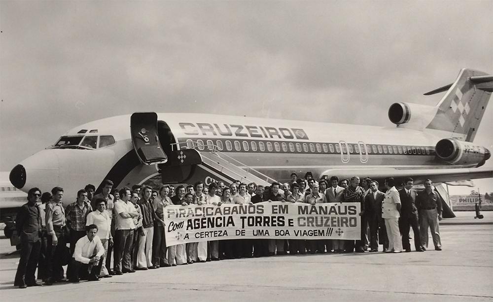 Cruzeiro – vôo fretado para excursão à Manaus.
