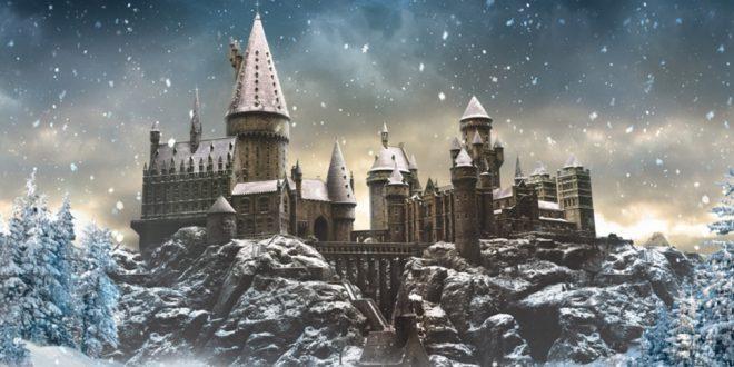 A magia do Natal em Hogwarts, nos parques da Universal!